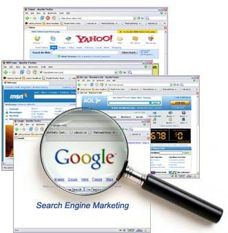 search engine marketing o SEM