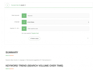 SEO Keyword suggest tool